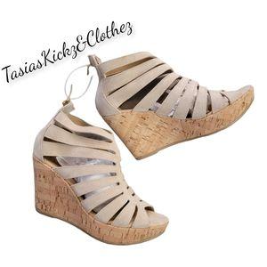 NEW Cordani Electra Gladiator Wedge Sandal